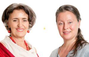 Susanna Herrgesell (links), Andrea Auer Hutzinger (rechts)